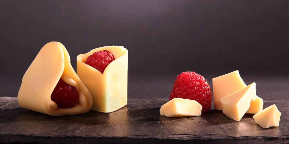 Chocolat blanc framboises 6e sens traiteur paris - Very parfait chocolat blanc ...