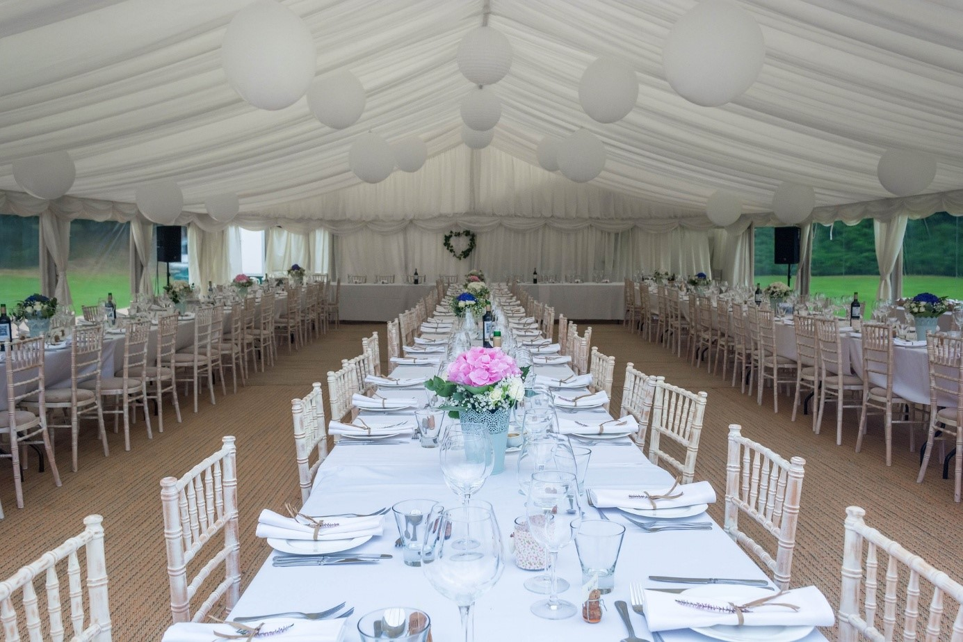 table reception evenement
