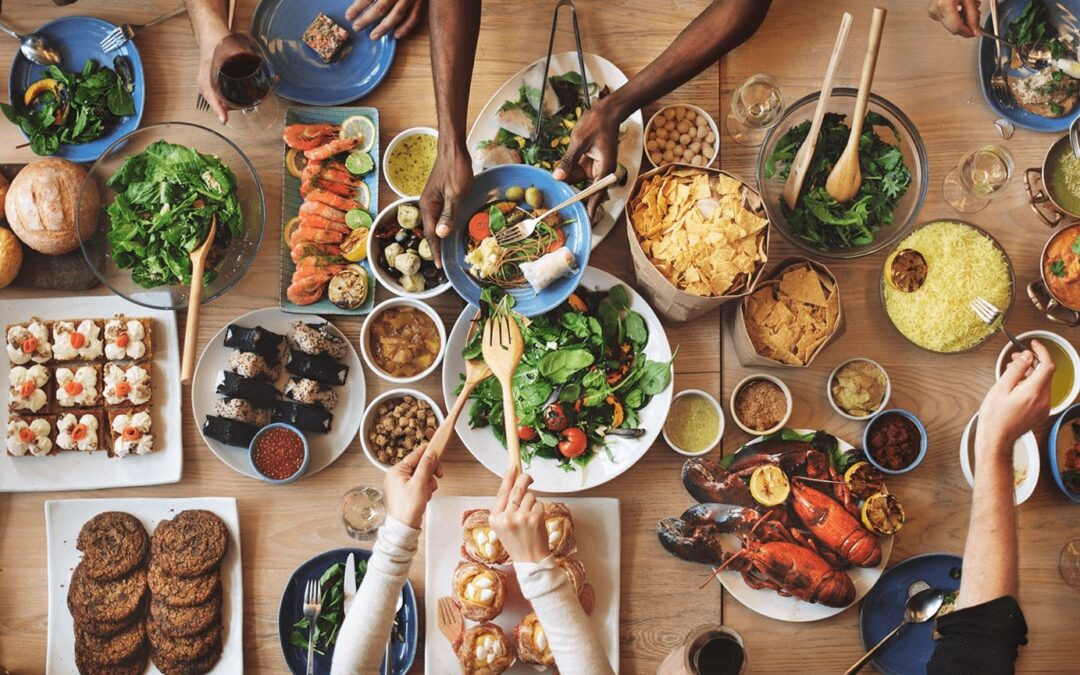 40 idées de repas originaux, élaborés par un traiteur haut de gamme