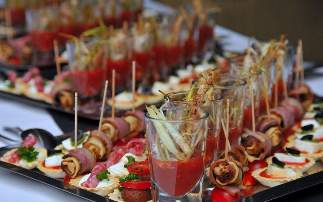 Des idées de buffet froid originales pour embellir vos réceptions