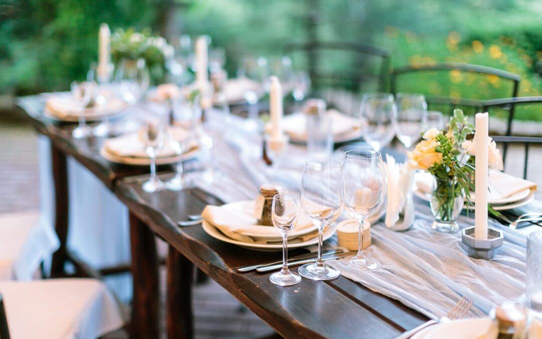 Les idées pour enjoliver votre menu réception et séduire vos invités